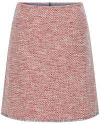 HUGO Textured A Line Skirt - Pink