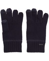 BOSS One-size Gloves With Touchscreen-friendly Fingertips - Blue