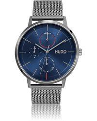 HUGO Mesh-bracelet Watch With Ultra-slim Case - Multicolour