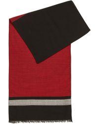 BOSS - Lightweight Scarf In A Fine Virgin-wool Blend - Lyst