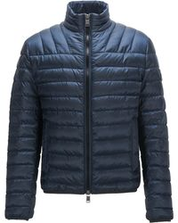 BOSS by Hugo Boss Regular-fit Down Jacket In Water-repellent Fabric - Blue