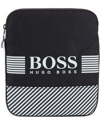 BOSS - Pixel Envelope Bag - Lyst
