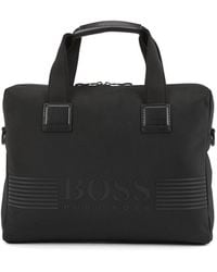 BOSS by Hugo Boss Pixel Document Case - Black