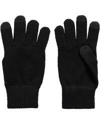 BOSS by HUGO BOSS Gebreide Handschoenen Met Touch-vingertoppen - Zwart