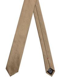 HUGO Corbata de sarga en seda pura - Neutro