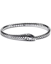 HUGO Armband Van Roestvrij Staal In Ouroboros-design - Metallic