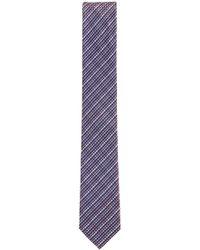 BOSS - Italian-made Textured Silk-jacquard Tie - Lyst