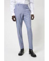 HUGO - Pantalon Slim Fit en tissu stretch performant à motif - Lyst