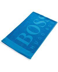 BOSS - 'beach Towel' | Cotton Terrycloth Beach Towel - Lyst