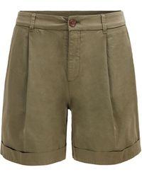 BOSS by HUGO BOSS Relaxed-fit Chino-shorts Van Biologisch Stretchkatoen - Naturel