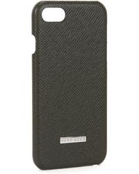 BOSS - Emed Leather Iphone 7 Case   Signature Phone 7 - Lyst
