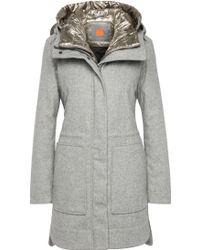 BOSS Orange - Parka In New-wool Blend With Detachable Waistcoat: 'oparka' - Lyst