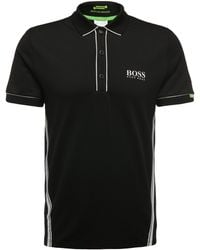 BOSS Green - Regular-fit Polo Shirt In Stretch Cotton Blend: 'paddy Mk 1' - Lyst