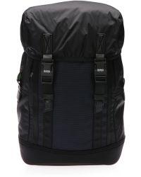 BOSS Green Backpack In Nylon: 'urbanized_backpack'
