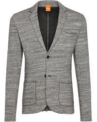 BOSS Orange - 'wellford' | Slim Fit, Cotton Pique Sweat Sport Coat - Lyst