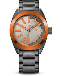 BOSS Orange - '1513057' | Steel Bracelet Strap 3-hand Quartz London Watch - Lyst