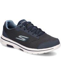 Skechers Go Walk 5 Qualify - Blau