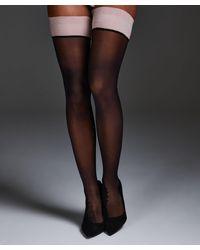 Hunkemöller Noir Stay-up Delicate Lace - Roze