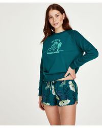 Hunkemöller Pyjama Shorts - Grijs
