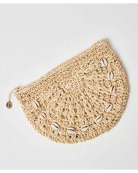Hunkemöller Crochet Moon Bag - Brown
