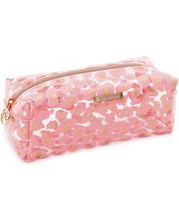 Hunkemöller Leopard Make-up Bag - Pink