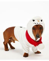 Hunkemöller Fleece Hunde-Onesie - Weiß