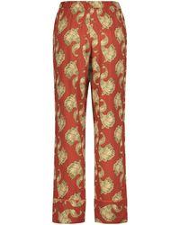 Hunkemöller Pyjamabroek Woven - Rood