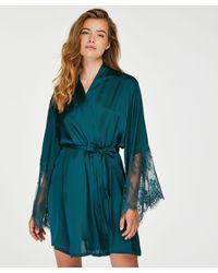 Hunkemöller - Kimono Satin - Lyst
