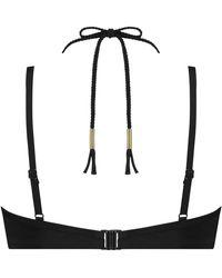 Hunkemöller Voorgevormde Beugel Bikinitop Sunset Dream - Zwart