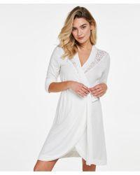 Hunkemöller Bata Modal Lace - Blanco