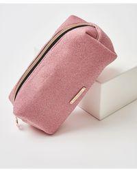 Hunkemöller Glitter Make-up Bag - Pink