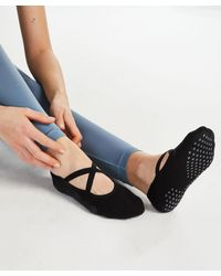 Hunkemöller Hkmx Anti-slip Yoga Sokken - Zwart