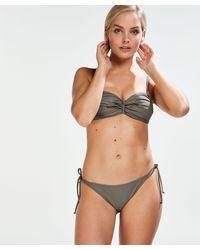 Hunkemöller Tanga Bikinibroekje Tribe - Groen