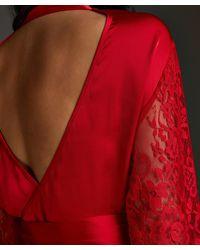Hunkemöller Kimono Jennifer - Rojo