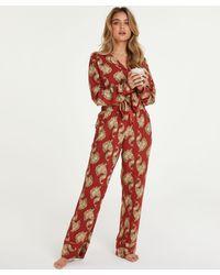 Hunkemöller Petite Pyjamabroek Woven - Meerkleurig