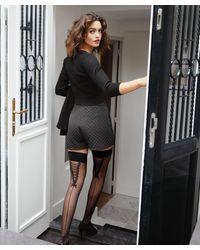 Hunkemöller Stay-up 20 Denier Pretty Lace - Zwart