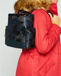 HUNTER - Original Disney Print Mini Backpack - Rubberised Leather - Lyst