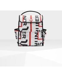 HUNTER - Original Exploded Logo Packable Backpack - Lyst