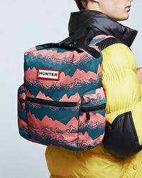 HUNTER - Original Printed Top Clip Mini Backpack - Nylon - Lyst