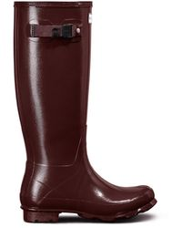 HUNTER - Women's Norris Field Gloss Wellington Boots - Lyst
