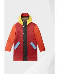 HUNTER - Original Colour Blocked Rubberised Hunting Coat - Lyst