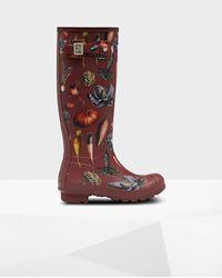 HUNTER Original Peter Rabbit 2 Tall Wellington Boots - Red