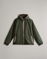 HUNTER Recycled Lightweight Packable Jacket - Green