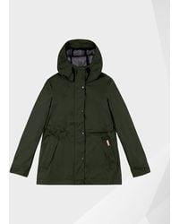 HUNTER Original Lightweight Waterproof Jacket - Green