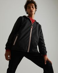 HUNTER Recycled Lightweight Packable Jacket - Black
