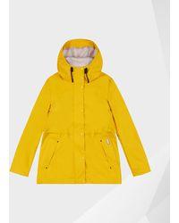 HUNTER Women's Original Lightweight Waterproof Jacket - Yellow