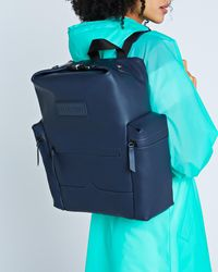 HUNTER - Original Top Clip Backpack - Rubberised Leather - Lyst