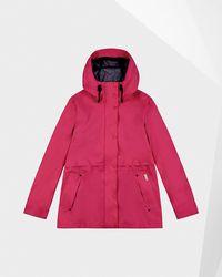 HUNTER Women's Original Lightweight Waterproof Jacket - Pink