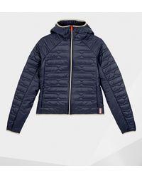 HUNTER Original Midlayer Jacket - Blue