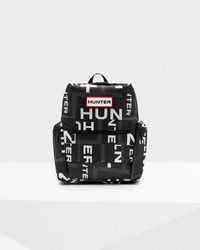 HUNTER - Original Exploded Logo Top Clip Backpack - Nylon - Lyst